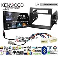 Volunteer Audio Kenwood DMX7704S Double Din Radio Install Kit with Apple CarPlay Android Auto Bluetooth Fits 2012-2013 Kia Soul