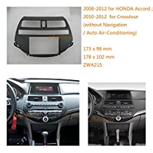 Autostereo Stereo Fascia Dash CD Trim Installation Kit For HONDA Accord 2008-2012; Crosstour 2010-2012 (without Navigation / Auto Air-Conditioning) Car Radio Installation Frame