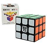 Black 3x3x3 MoYu AoLong V2 Puzzle by MoYu