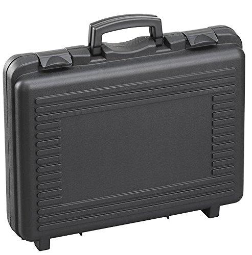 DURATOOL 17048H184PL.079.GPB Storage Case, Plastic, with Foam, Black, 482mm x 375mm x 184mm