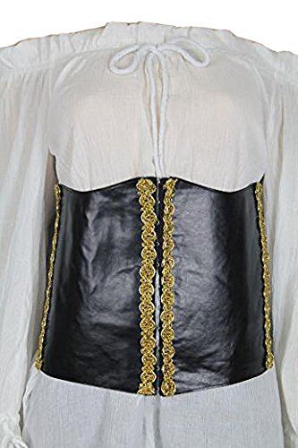 thecostumebase Deluxe Angelica Corset Costume Pirates of The Caribbean -