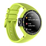 Ticwatch S Aurora Smart Watch,1.4 inch OLED Display, Android Wear 2.0,Compatible with iOS