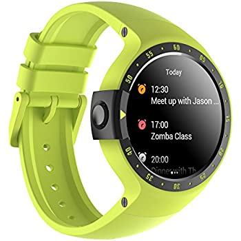 Ticwatch E Bluetooth Smart Watch, Google Assistant, Wear OS by Google Smartwatch,Compatible with iPhone and Android (S-Aurora) (Renewed)