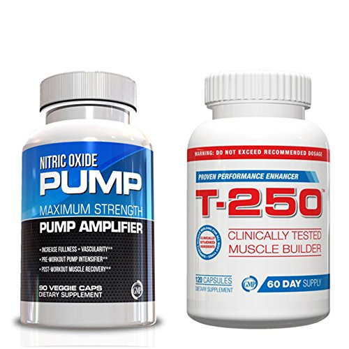 Muscle Building Supplements-Nitric Oxide and T-250 Kit (Mens Muscle Building Supplements compare prices)