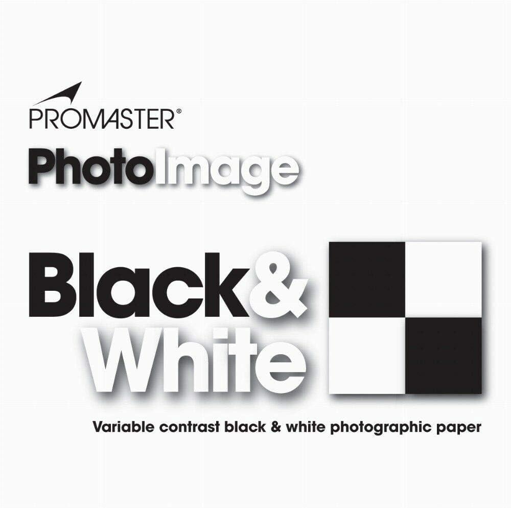 25 PK 8x10 Glossy PhotoImage B/&W VC Photo Paper