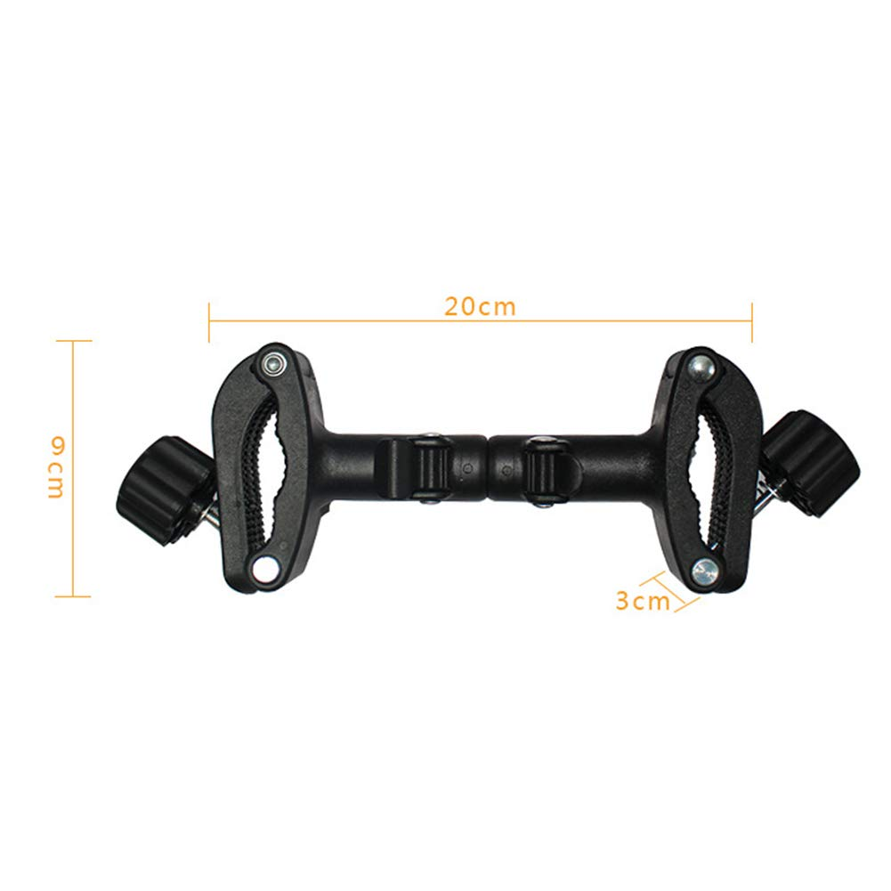 UKSAT 3pcs Twin Baby Stroller Connect Adapter,Universal Adjustable Pushchair Connectors Baby Cart Safety Assemble Connector Joint Linker,Outdoor Toddler Accessory