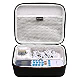 LTGEM EVA Hard Case for FDA cleared HealthmateForever YK15AB TENS unit Electronic Pulse Massager - Travel Carrying Storage Bag