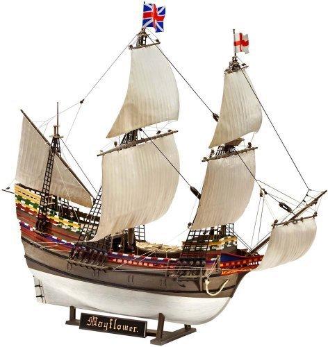 Revell Germany Pilgrim Ship Mayflower Model Kit by Revell Germany Mayflower Model Ship