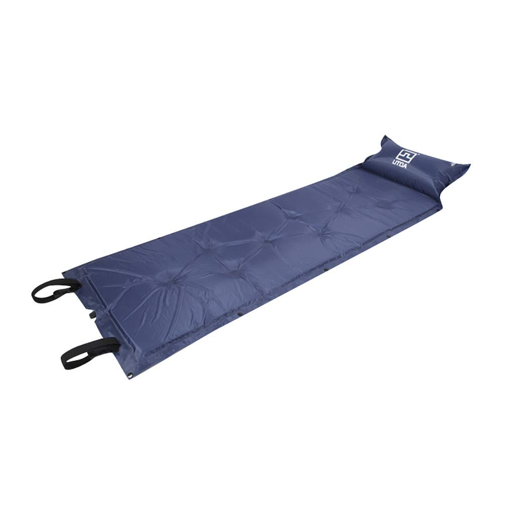 Yoyorule Camping & Hiking Tool Outdoor Camping Thick Sleeping Pad Automatic Inflating with Attached Pillow