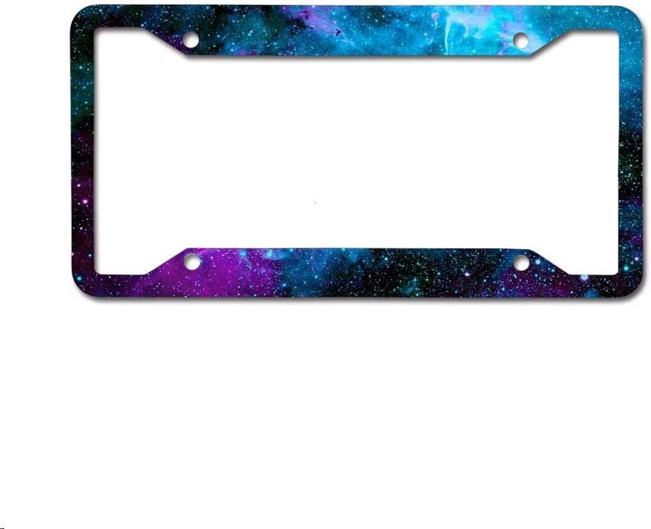 phygthoug License Plate Frame Custom Frame protruding Your Personalized Label 12 x 6in muit