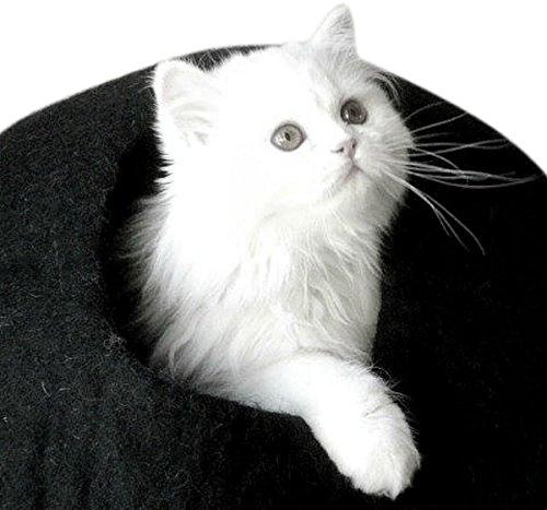 Best Cat Cave Bed, Unique Handmade Natural Felted Merino ...