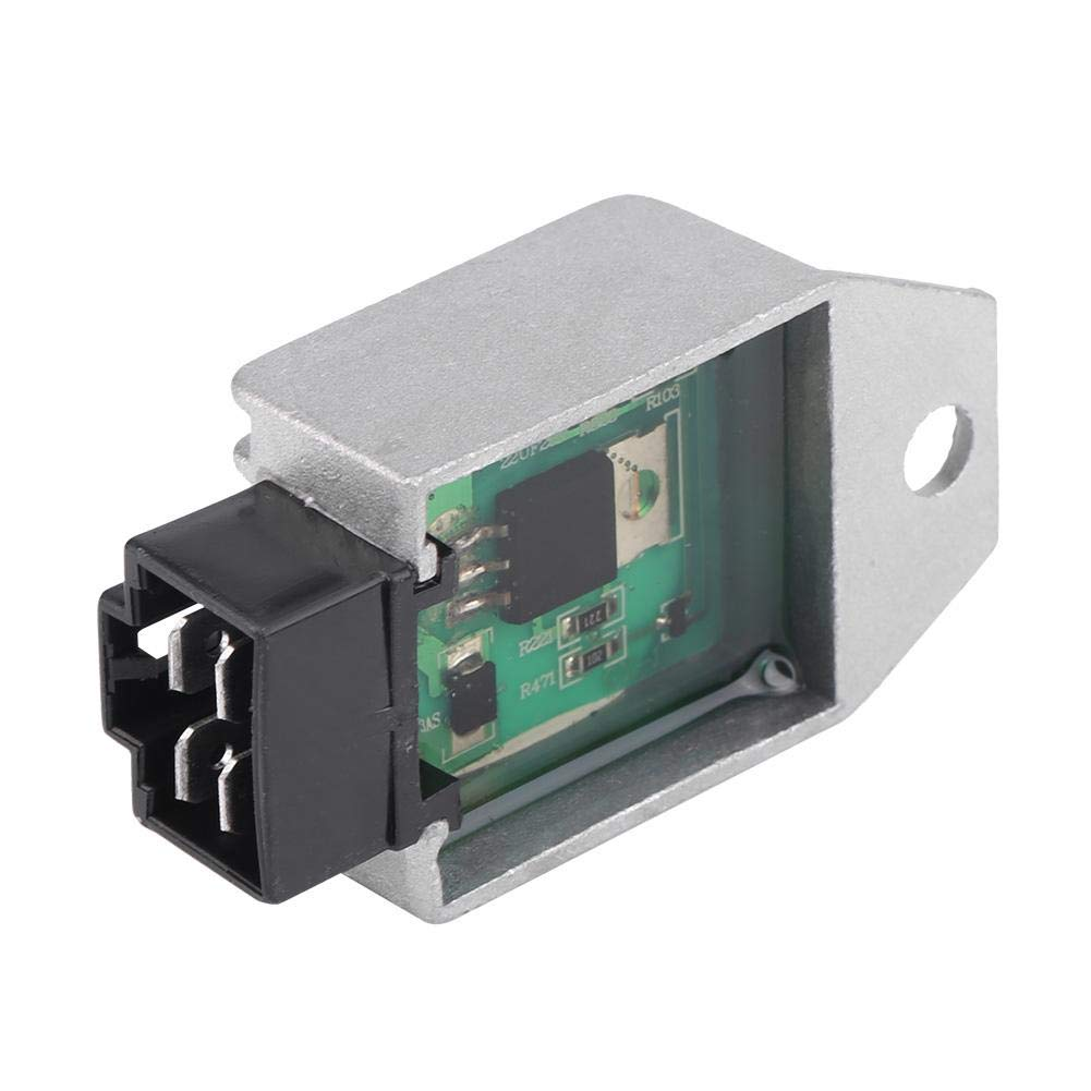 Keenso 12V Regulator Rectifier for 50cc to 150cc ATV Moped GY6 Scooter 4-Pin Male Plug Regulator Rectifier