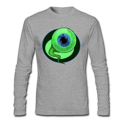 OMMIIY Men's Game Jacksepticeye Sam The Septic Eye Long Sleeve T-Shirt