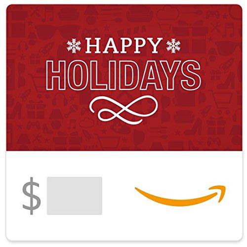 Large Product Image of Amazon eGift Card - Holiday Icons