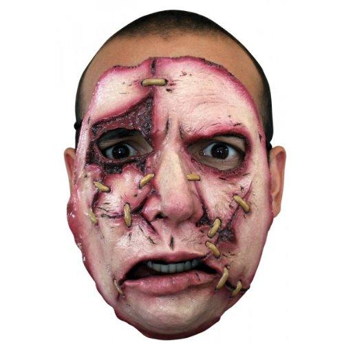 Halloween Costume - Serial Killer Face Mask #18 - Scary Creepy Death -
