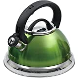 Creative Home Alexa 3.0 Whistling Tea Kettle, Chartreuse