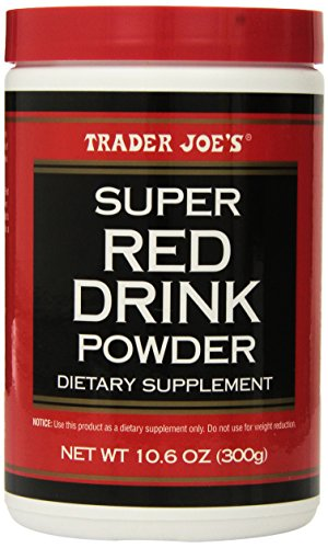 (Trader Joe's Super Red Drink Powder Antioxidant Dietary Supplement, 10.6oz (300g))