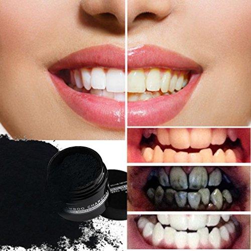 charbon de bois pour les dents