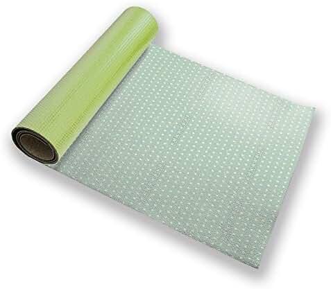 Polkadots Mint Yoga Mat Custom Printed Premium
