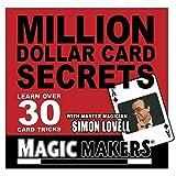 Million Dollar Card Secrets Card Tricks by MAGIC MAKERS