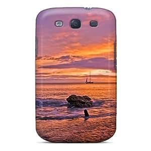 Galaxy S3print High Quality Tpu Gel Frame Cases Covers