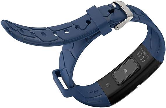 OOLIFENG Pulsera Actividad Reloj Inteligente, Impermeable IP68 Fitness Tracker con Pulsómetro, Podómetro Contador de calorias para iOS Android,Blue: Amazon.es: Deportes y aire libre