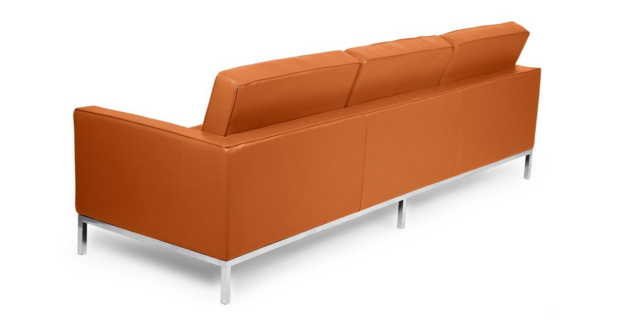 Amazon.com: kardiel Florence Knoll style Sofa 3 asiento ...