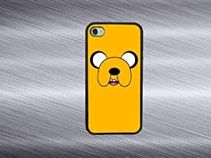 LJF phone case iphone 4/4s case - Adventrure time dog iphone 4/4s covers ,rubber iphone case