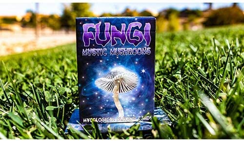 SOLOMAGIA Limited Edition Fungi Mystic Mushrooms Mycological Playing Cards - Deck of Cards: Amazon.es: Juguetes y juegos