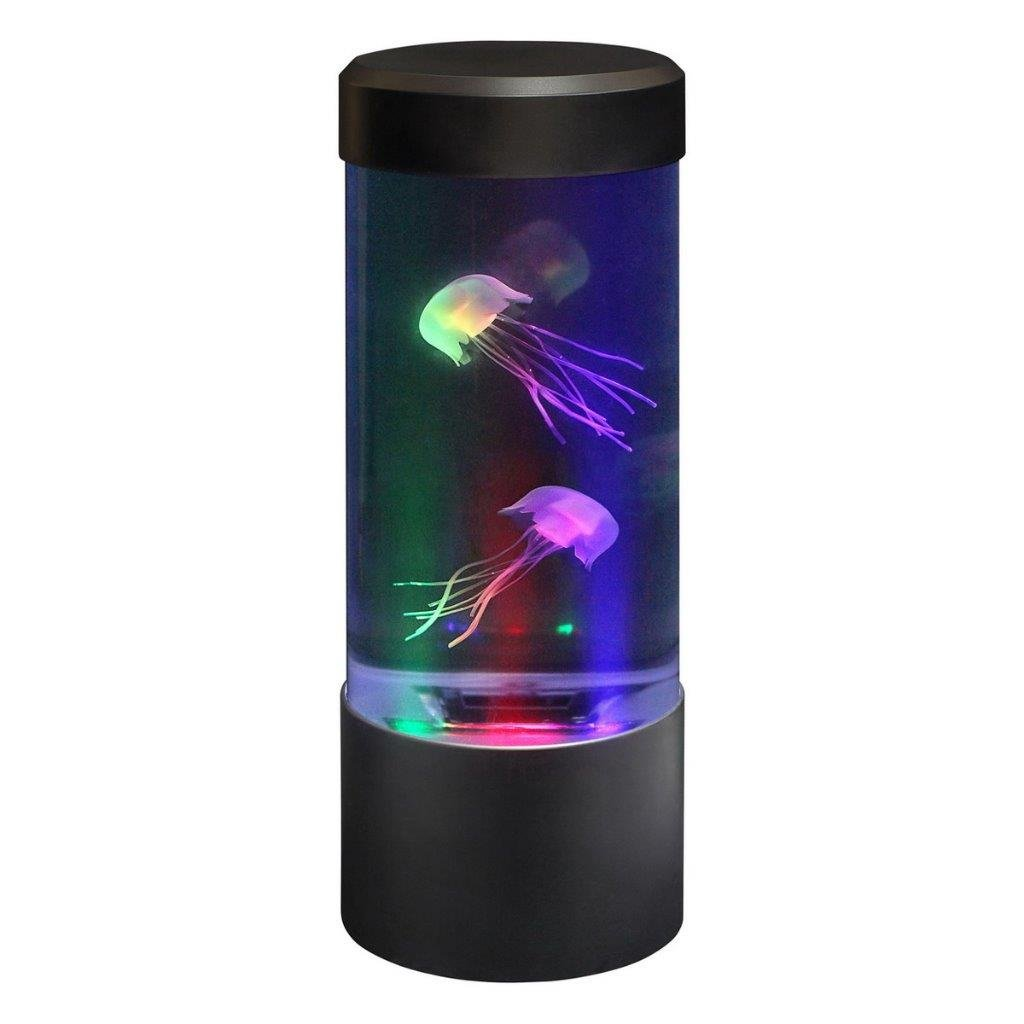 Lightahead LED Mini Desktop Jellyfish Lamp with Color Changing Light Effects Jelly Fish Tank Aquarium Mood Lamp by Lightahead (Image #1)