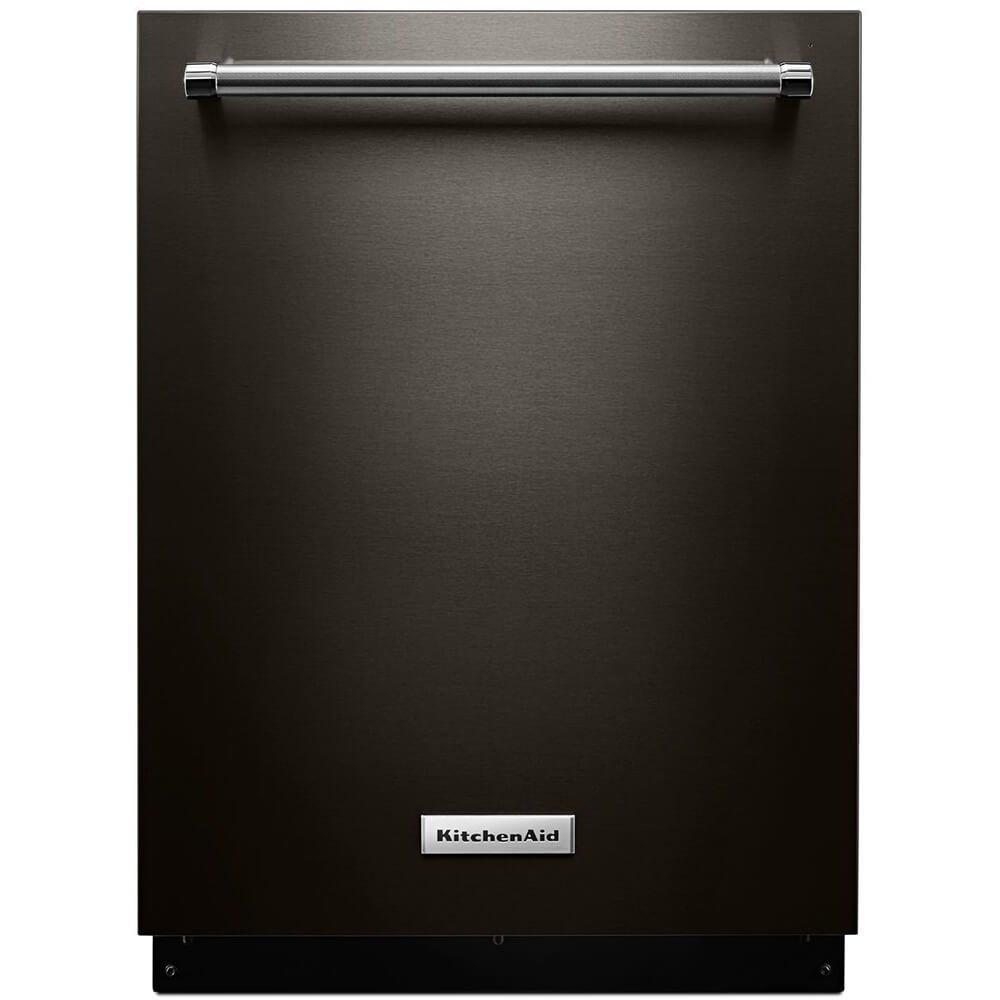 Kitchen Aid KDTM354EBS 44dB Black Stainless Built-in Dishwasher