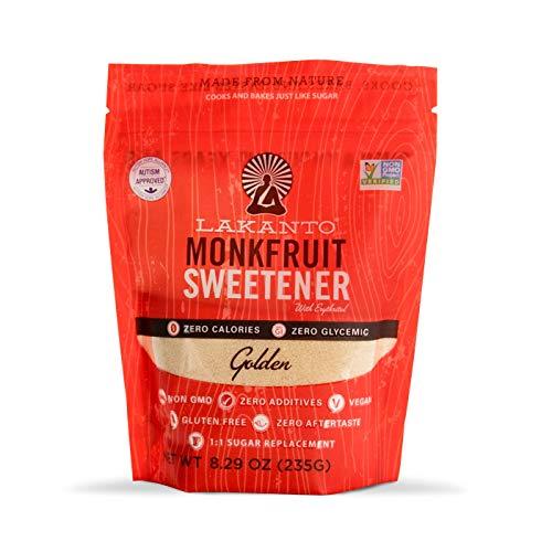 Lakanto Golden Monkfruit Natural Sweetener 829 Oz 235 g