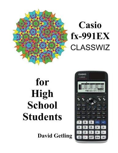 Casio fx-991EX Classwiz for High School Students