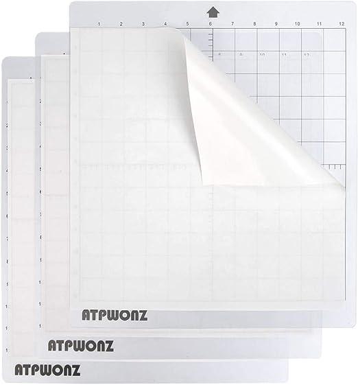 OFNMY 3pcs Cortadora de corte plotter para cortar silueta estándar, 12 X 12 Mat para cortar camafeos: Amazon.es: Oficina y papelería
