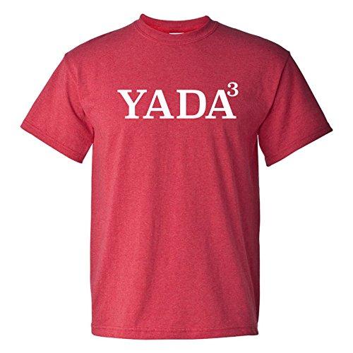 Yada Yada Yada - Funny Elaine Jerry TV Comedy Sitcom Quote T Shirt - Large - Heather Red (Seinfeld Elaine)
