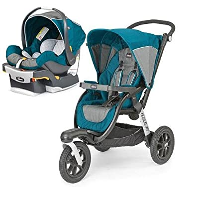 Chicco Activ3 Jogging Stroller - Polaris With KeyFit 30 Infant Car Seat