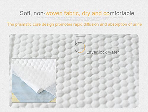 Baby Disposable 30 High Chucks Pads, Diaper Table & Mat, Bed