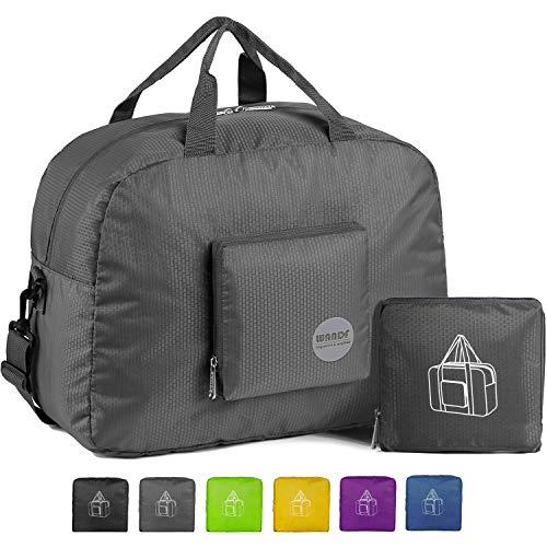 WANDF 16' Foldable Duffle Bag 20L for Travel Gym Sports Lightweight Luggage...