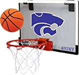 Kansas State University Wildcats Indoor Basketball Hoop Set - Over the Door Game