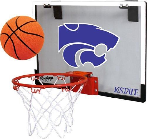 Jarden Sports Licensing Kansas State University Wildcats Indoor Basketball Hoop Set - Over The Door Game