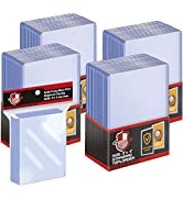 100 ct Toploaders Trading Card Sleeves Set, Top Loaders Penny Sleeves Compatible with Standard Ca...