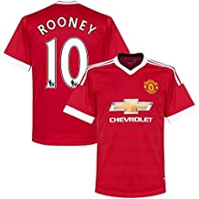 Manchester United Home Rooney Kids #10 Soccer Kit Jersey and Free Shorts All Youth Sizes