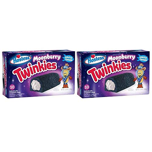 Twinkies Moonberry by Hostess, Limited Edition, (Pack of 2) by Generic