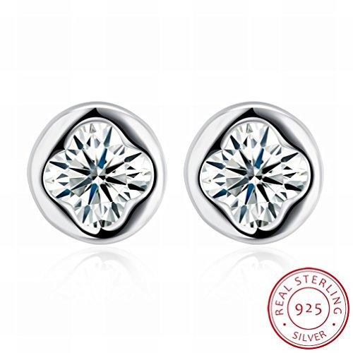 MOMO Boucles D'oreilles Fashion Fashion Boucles D'oreilles Femme Femme / Acier Inoxydable / Anti-allergique / Argent Brillant / Diamant / Cristal Transparent