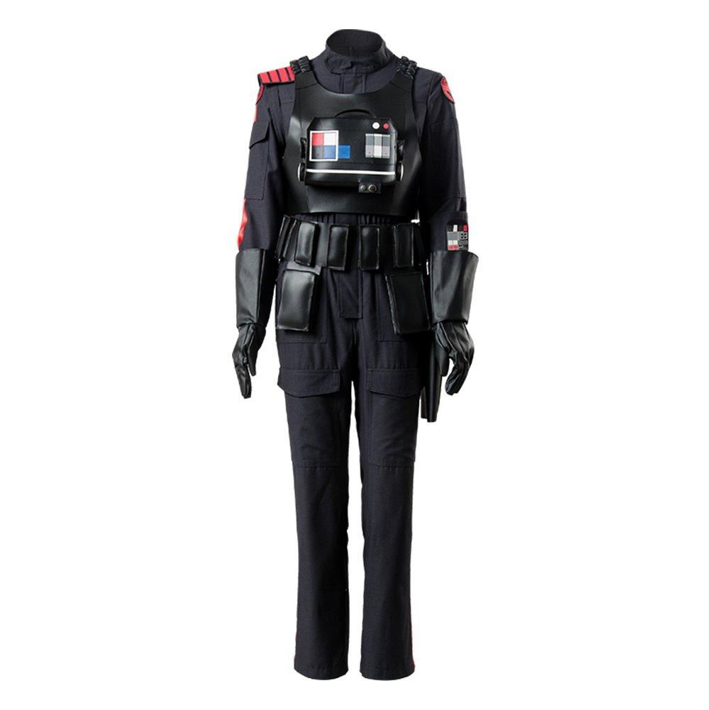 Star Wars Battlefront 2 II Iden Versio Inferno Squad Imperial Soldier Officer Cosplay Kostüm XL  L