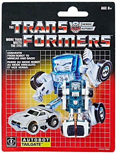 """Transformers G1 Reissue Exclusive Heroic Autobot Tailgate 3"""" Action Figure"""
