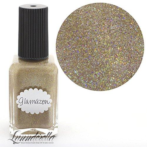 Lynnderella Beige Shimmerella Nail Polish—Glamazon by Lynnderella