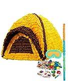 BirthdayExpress Let's Go Camping Party Supplies - Pinata Kit