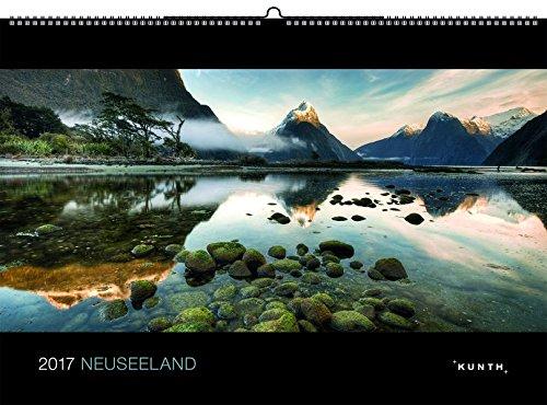 2017 Neuseeland: KUNTH-Kalender (KUNTH Wandkalender Black Edition)