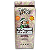 The Coffee Fool Very Fine Grind, Fool's Decaf Peppermint Mistletoe Kisses, 12 Ounce